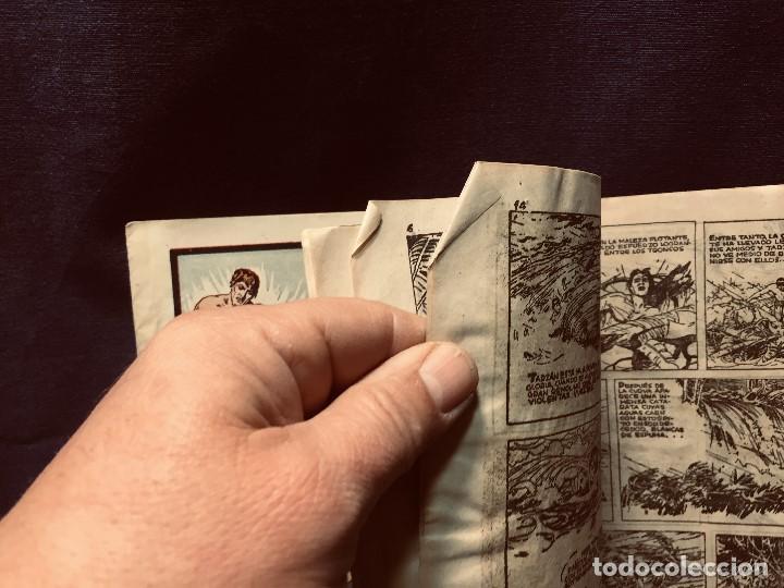 Tebeos: cómic blanco negro tarzán el invencible hispano americana ediciones mediados s xx - Foto 5 - 192321410
