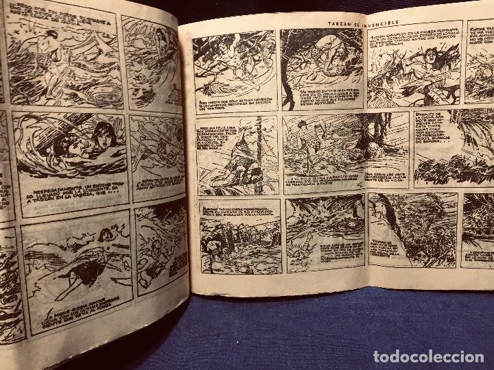 Tebeos: cómic blanco negro tarzán el invencible hispano americana ediciones mediados s xx - Foto 6 - 192321410