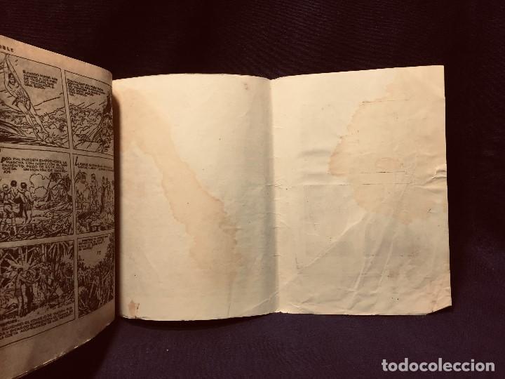 Tebeos: cómic blanco negro tarzán el invencible hispano americana ediciones mediados s xx - Foto 7 - 192321410