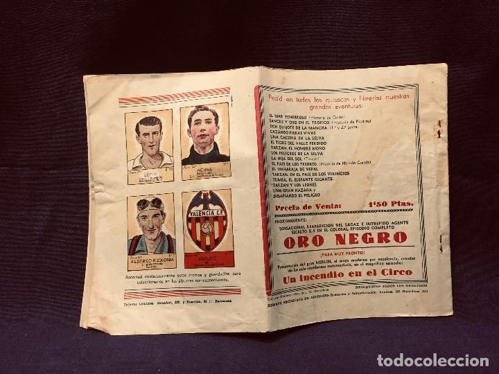 Tebeos: cómic blanco negro tarzán el invencible hispano americana ediciones mediados s xx - Foto 8 - 192321410