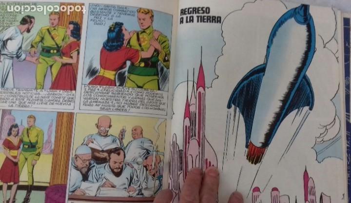 Tebeos: FLASH GORDON. TOMO I. HEROES DEL COMIC,BURU LAN, SAN SEBASTIAN 1971. - Foto 6 - 192326126