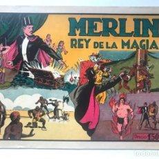 Tebeos: MERLIN REY DE LA MAGIA Nº 1 AÑOS 40 EDI,HISPANO AMERICANA. Lote 192374222