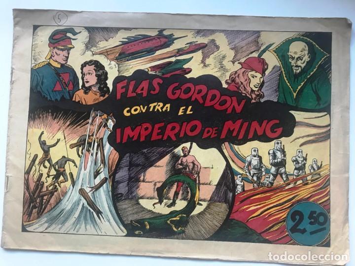 FLAS GORDON CONTRA EL IMPERIO MING EDICIONES HISPANO AMERICANA (Tebeos y Comics - Hispano Americana - Flash Gordon)