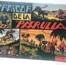 Tebeos: JORGE Y FERNANDO . EL TRAIDOR DE LA PATRULLA 1940 HISPANO AMERICANA. Lote 192436758