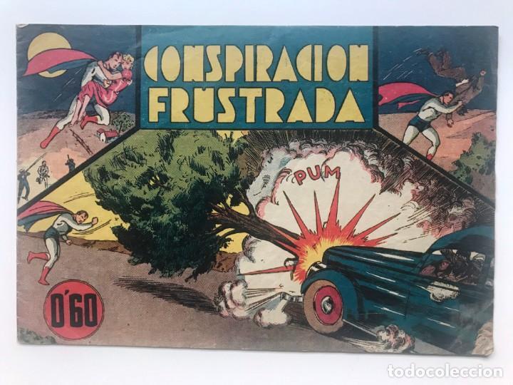 CICLON. CONSPIRACION FUSTRADA Nº 4 . HISPANO AMERICANA SUPERMAN (Tebeos y Comics - Hispano Americana - Otros)