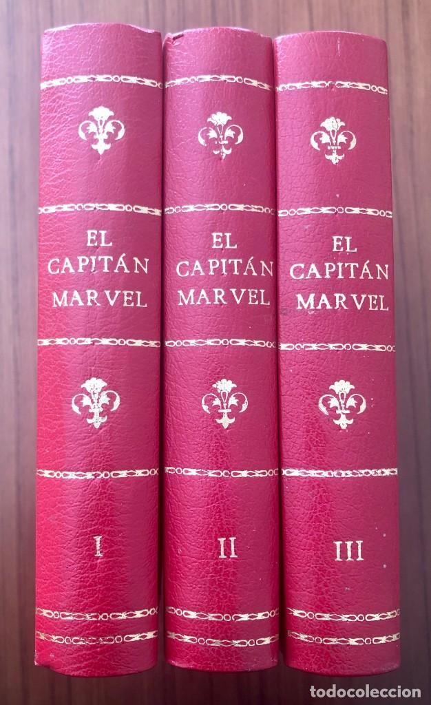 EL CAPITAN MARVEL. COMPLETA. (H.AMERICANA). REEDICIÓN ESCASA, DESCATALOGADA Y EN EXCELENTE ESTADO. (Tebeos y Comics - Hispano Americana - Capitán Marvel)