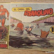 Tebeos: HOMBRE ENMASCARADO .EL CANAL DEL REMOLINO NÚMERO 8 DE LOS PEQUEÑOS. Lote 193020995