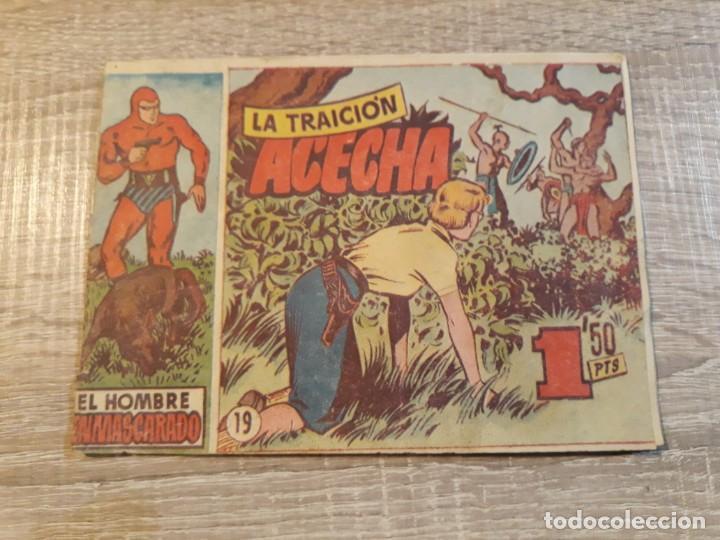 HOMBRE ENMASCARADO.LA TRAICION ACECHA, NÚMERO 19. (Tebeos y Comics - Hispano Americana - Hombre Enmascarado)