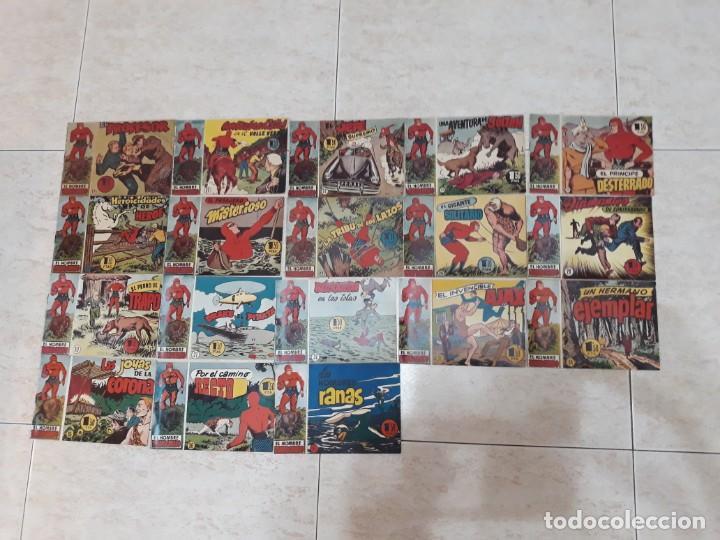 LOTE HOMBRE ENMASCARADO 18 NÚMEROS DE 1,50 PTAS. (Tebeos y Comics - Hispano Americana - Hombre Enmascarado)