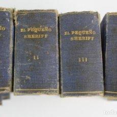 Tebeos: COM-193. EL PEQUEÑO SHERIFF. 4 TOMOS . FINAL AÑOS 40. HISPANO AMERICANA.NUMEROS 1 A 80. VER DESCRIPC. Lote 193235650