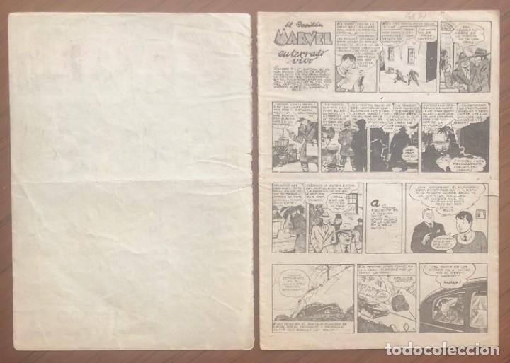 Tebeos: EL CAPITÁN MARVEL 27 ENTERRADO VIVO. (H.AMERICANA 1960) ORIGINAL EN BUEN ESTADO - Foto 2 - 193628880