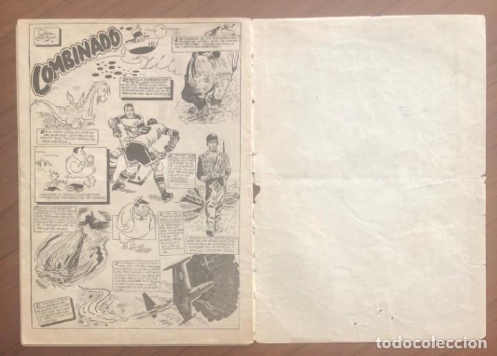 Tebeos: EL CAPITÁN MARVEL 27 ENTERRADO VIVO. (H.AMERICANA 1960) ORIGINAL EN BUEN ESTADO - Foto 3 - 193628880