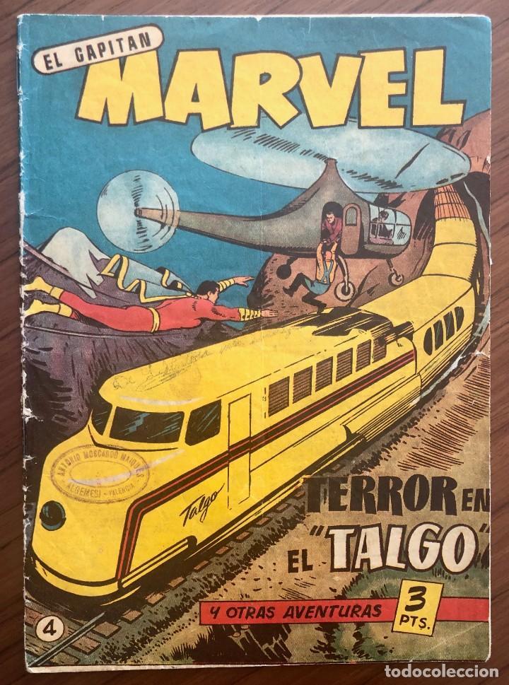 EL CAPITÁN MARVEL 4 (H.AMERICANA 1960) ORIGINAL EN BUEN ESTADO (Tebeos y Comics - Hispano Americana - Capitán Marvel)