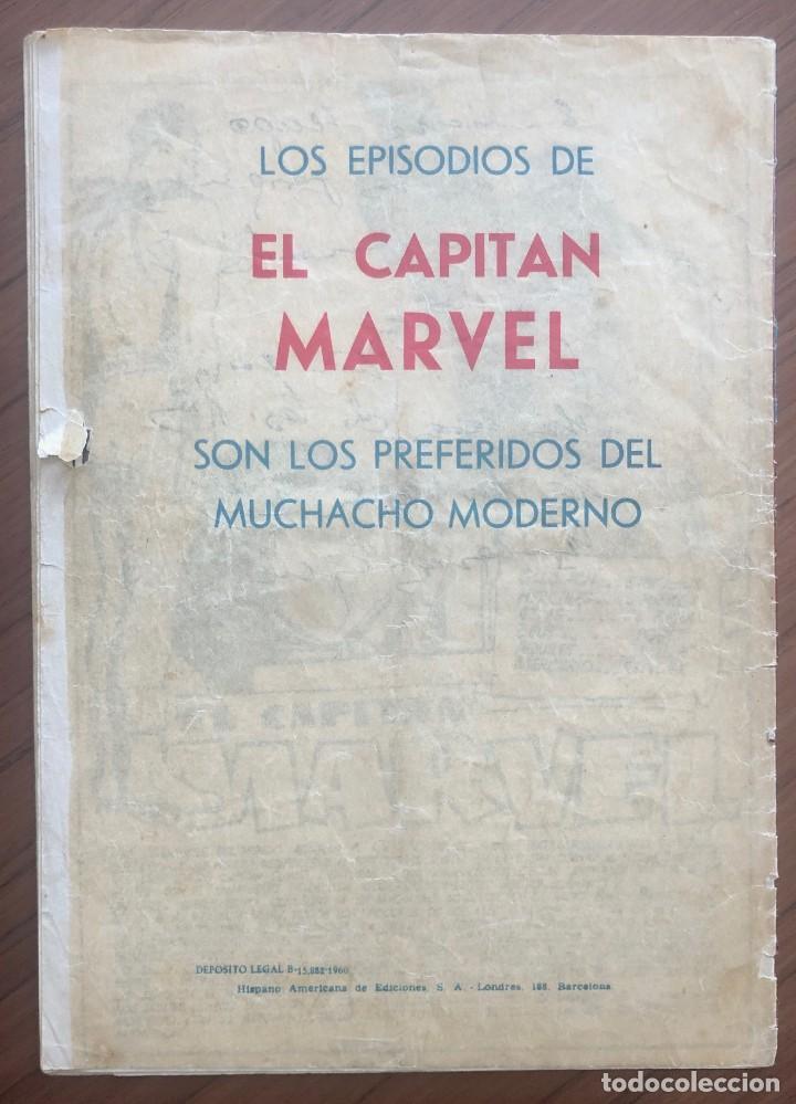 Tebeos: EL CAPITÁN MARVEL 4 (H.AMERICANA 1960) ORIGINAL EN BUEN ESTADO - Foto 5 - 193630890