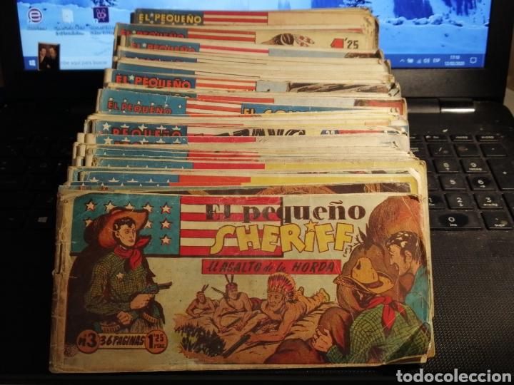 LOTE DE 58 TEBEOS EL PEQUEÑO SHERIFF NÚMEROS DISPONIBLES EN DESCRIPCION (Tebeos y Comics - Hispano Americana - Otros)