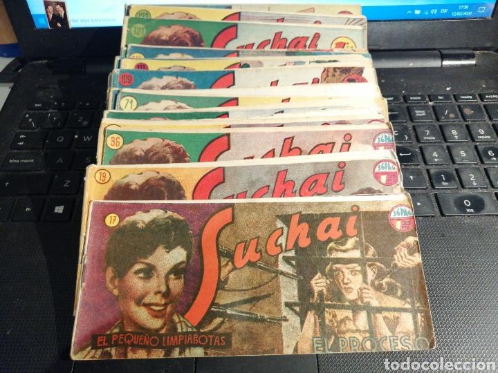 LOTE DE 22 TEBEOS DE SUCHAI EL PEQUEÑO LIMPIABOTAS HISPANO AMERICANA (Tebeos y Comics - Hispano Americana - Suchai)