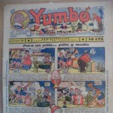 Tebeos: YUMBO EL ELEFANTE SABIO Y SU PANDILLA AÑO II Nº 29. Lote 194010841