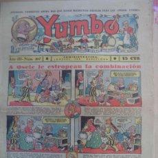 Tebeos: YUMBO EL ELEFANTE SABIO Y SU PANDILLA AÑO III Nº 107. Lote 194058636