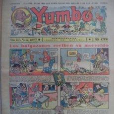 Tebeos: YUMBO EL ELEFANTE SABIO Y SU PANDILLA AÑO III Nº 108. Lote 194058756