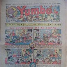 Tebeos: YUMBO EL ELEFANTE SABIO Y SU PANDILLA AÑO III Nº 110. Lote 194059047