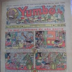 Tebeos: YUMBO EL ELEFANTE SABIO Y SU PANDILLA AÑO III Nº 111. Lote 194060378
