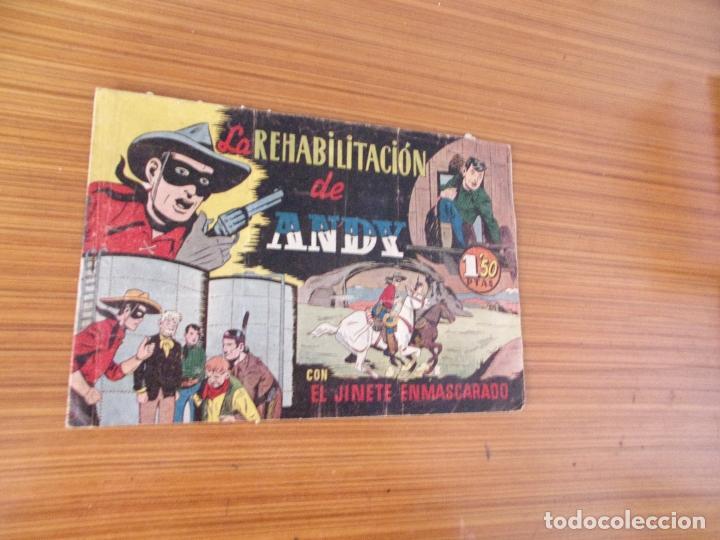 EL JINETE ENMASCARADO Nº LA REHABILITACION DE ANDY EDITA HISPANO AMERICANA (Tebeos y Comics - Hispano Americana - Otros)