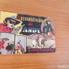 Tebeos: EL JINETE ENMASCARADO Nº LA REHABILITACION DE ANDY EDITA HISPANO AMERICANA . Lote 194077138