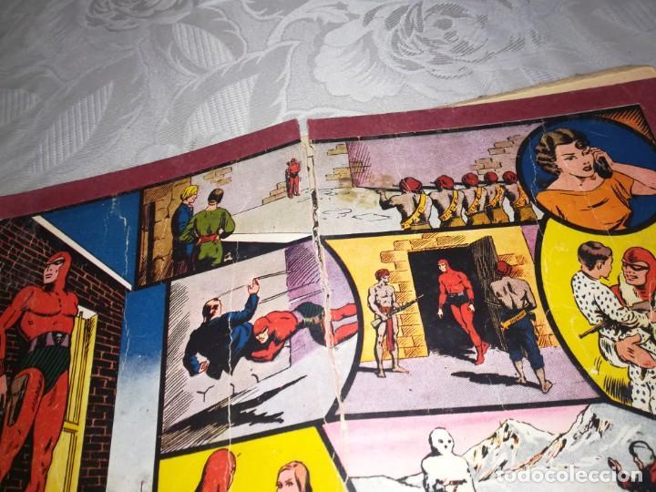 Tebeos: LOTE DE 5 COMIC EL HOMBRE ENMASCARADO DEL NUMERO 1 AL NUMERO 5 HISPANO AMERICANA MIREN FOTOS - Foto 8 - 194105193
