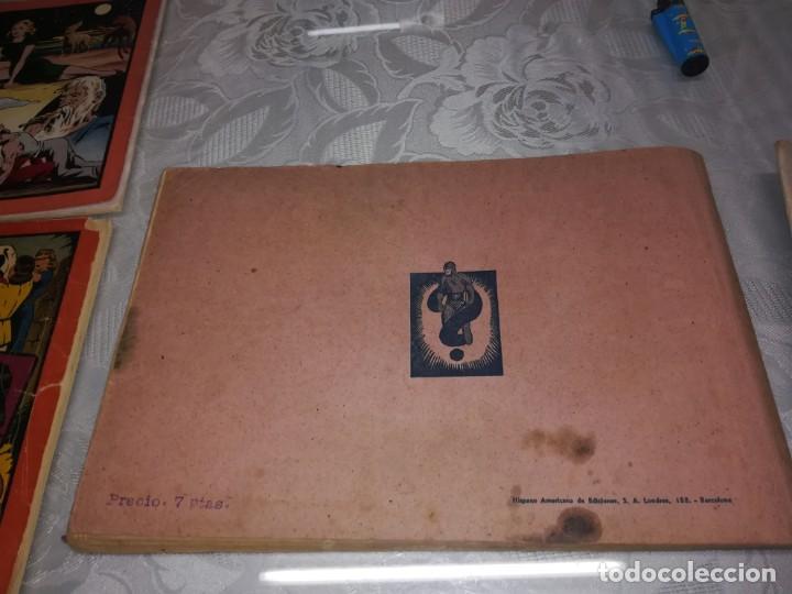 Tebeos: LOTE DE 5 COMIC EL HOMBRE ENMASCARADO DEL NUMERO 1 AL NUMERO 5 HISPANO AMERICANA MIREN FOTOS - Foto 12 - 194105193