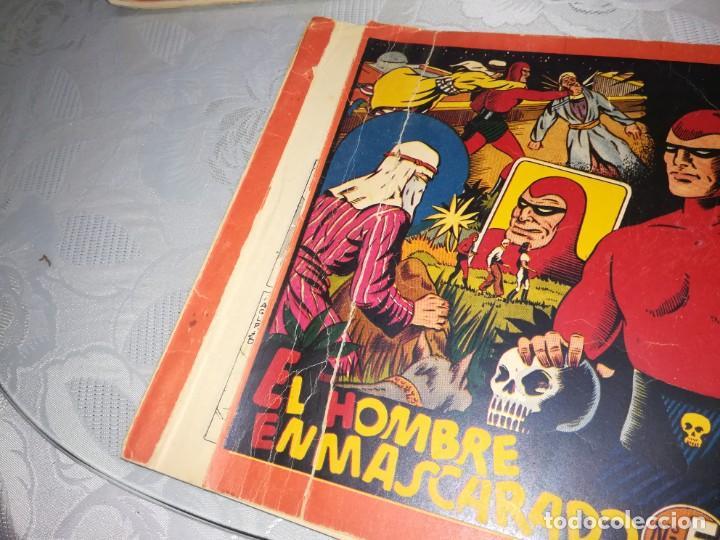 Tebeos: LOTE DE 5 COMIC EL HOMBRE ENMASCARADO DEL NUMERO 1 AL NUMERO 5 HISPANO AMERICANA MIREN FOTOS - Foto 15 - 194105193