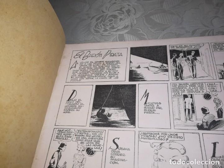 Tebeos: LOTE DE 5 COMIC EL HOMBRE ENMASCARADO DEL NUMERO 1 AL NUMERO 5 HISPANO AMERICANA MIREN FOTOS - Foto 17 - 194105193