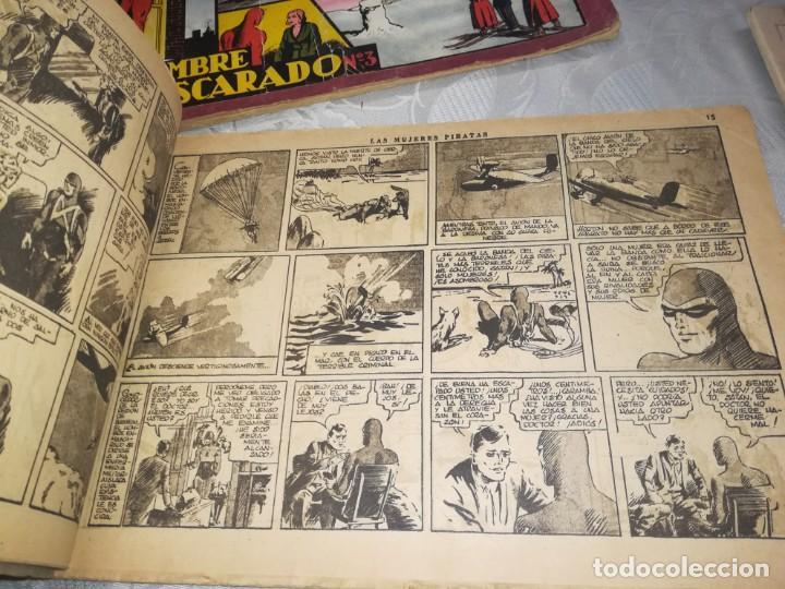 Tebeos: LOTE DE 5 COMIC EL HOMBRE ENMASCARADO DEL NUMERO 1 AL NUMERO 5 HISPANO AMERICANA MIREN FOTOS - Foto 18 - 194105193