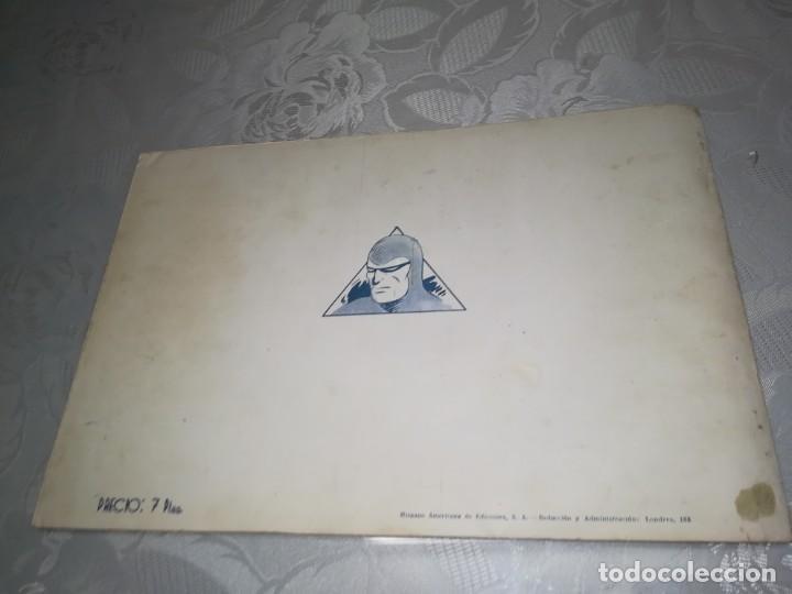 Tebeos: LOTE DE 5 COMIC EL HOMBRE ENMASCARADO DEL NUMERO 1 AL NUMERO 5 HISPANO AMERICANA MIREN FOTOS - Foto 19 - 194105193