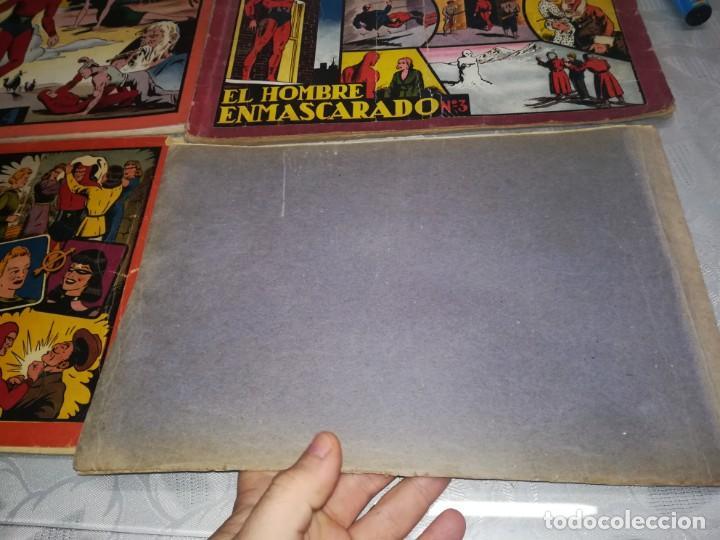 Tebeos: LOTE DE 5 COMIC EL HOMBRE ENMASCARADO DEL NUMERO 1 AL NUMERO 5 HISPANO AMERICANA MIREN FOTOS - Foto 20 - 194105193