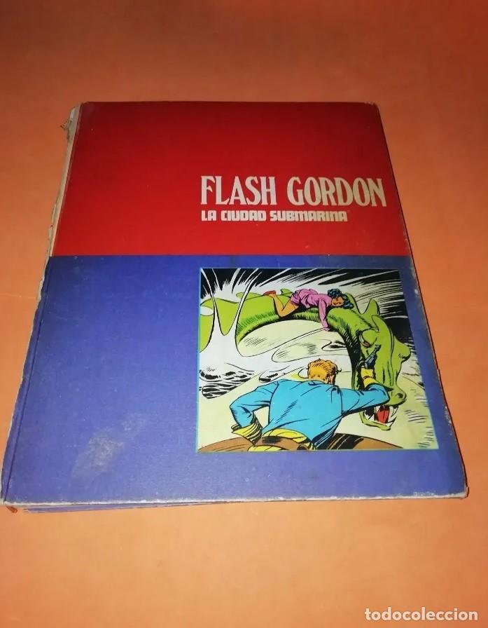 TOMO 4 DE LA COLECCIÓN DE BURU LAND (1971) DE FLASH GORDON. (Tebeos y Comics - Hispano Americana - Flash Gordon)