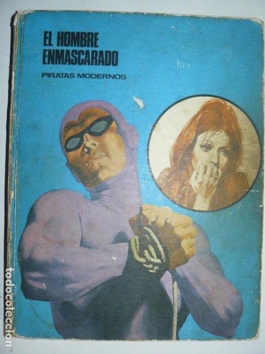 EL HOMBRE ENMASCARADO - PIRATAS MODERNOS - TOMO 7 BURU LAN EDICIONES 9 EPISODIOS 1973 (Tebeos y Comics - Hispano Americana - Hombre Enmascarado)