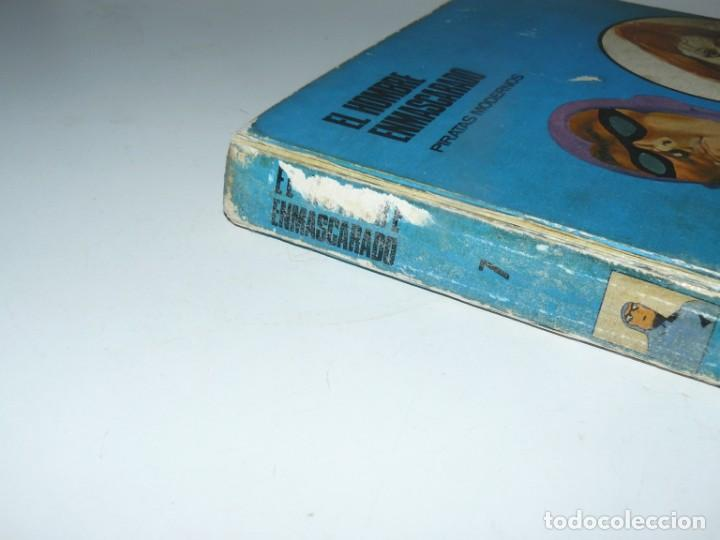 Tebeos: EL HOMBRE ENMASCARADO - PIRATAS MODERNOS - TOMO 7 BURU LAN EDICIONES 9 EPISODIOS 1973 - Foto 3 - 194145113