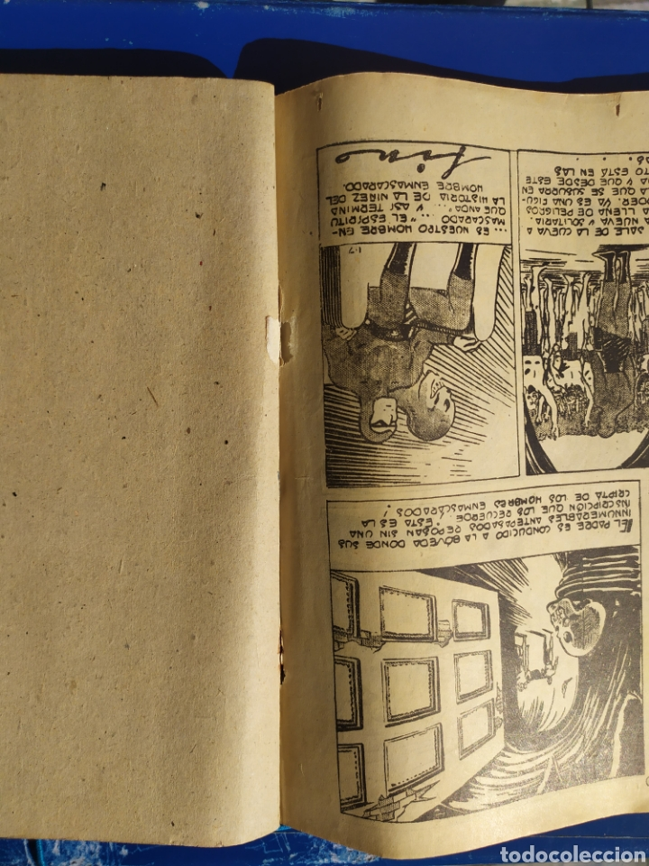 Tebeos: El Hombre Enmascarado n 7- Hispano Americana - Album rojo - Foto 5 - 194184415