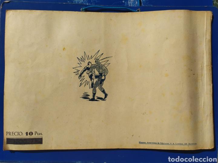 Tebeos: El Hombre Enmascarado n 7- Hispano Americana - Album rojo - Foto 6 - 194184415