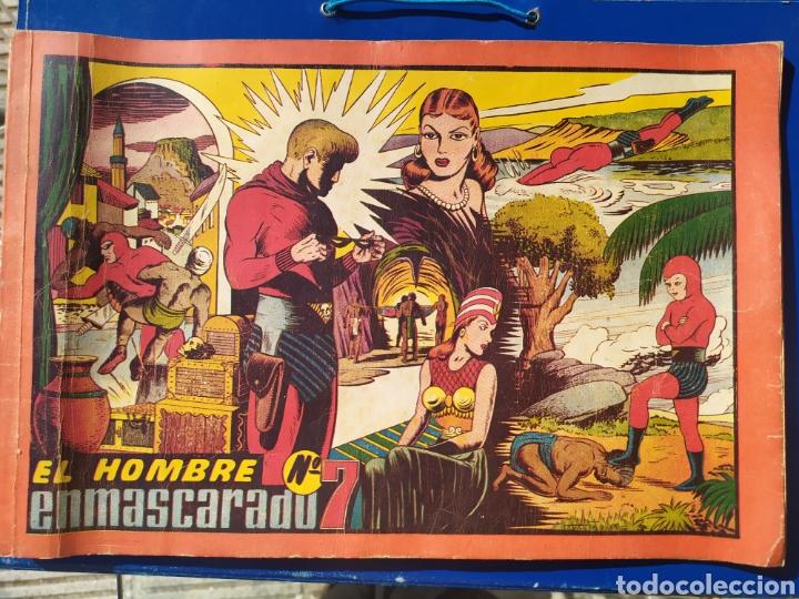 EL HOMBRE ENMASCARADO N 7- HISPANO AMERICANA - ALBUM ROJO (Tebeos y Comics - Hispano Americana - Hombre Enmascarado)
