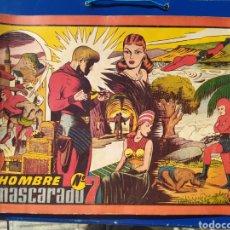 Tebeos: EL HOMBRE ENMASCARADO N 7- HISPANO AMERICANA - ALBUM ROJO. Lote 194184415