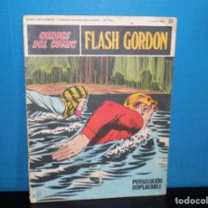 Tebeos: HEROES DEL COMIC FLASH GORDON- N-21. Lote 194186443