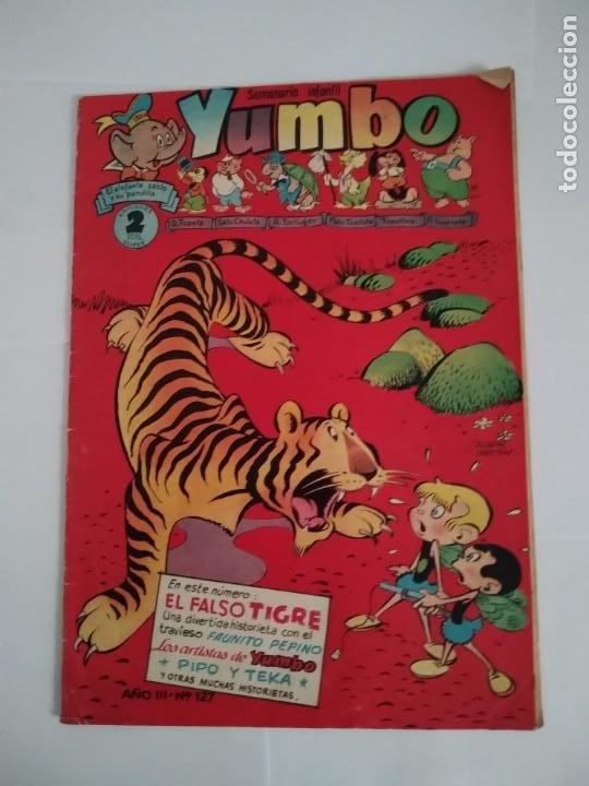 YUMBO SEMANARIO INFANTIL Nº 127 (Tebeos y Comics - Hispano Americana - Yumbo)