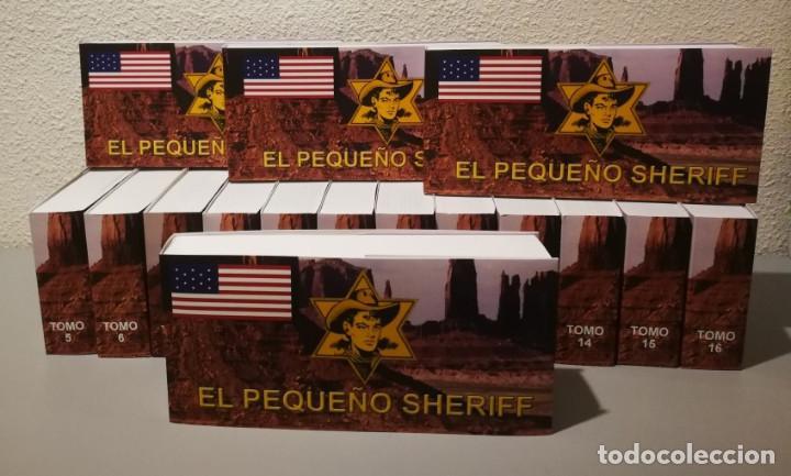 EL PEQUEÑO SHERIFF - COLECCIÓN COMPLETA Y FACSIMILAR (270 TEBEOS DE 36 PP.EN 16 TOMOS ) (Tebeos y Comics - Hispano Americana - Otros)
