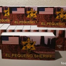 Tebeos: EL PEQUEÑO SHERIFF - COLECCIÓN COMPLETA Y FACSIMILAR (270 TEBEOS DE 36 PP.EN 16 TOMOS ) . Lote 194215896