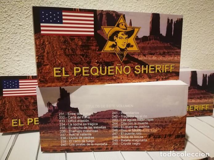 Tebeos: EL PEQUEÑO SHERIFF - COLECCIÓN COMPLETA Y FACSIMILAR (270 Tebeos de 36 pp.en 16 tomos ) - Foto 2 - 194215896