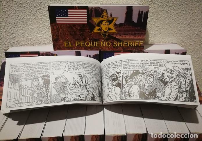 Tebeos: EL PEQUEÑO SHERIFF - COLECCIÓN COMPLETA Y FACSIMILAR (270 Tebeos de 36 pp.en 16 tomos ) - Foto 4 - 194215896
