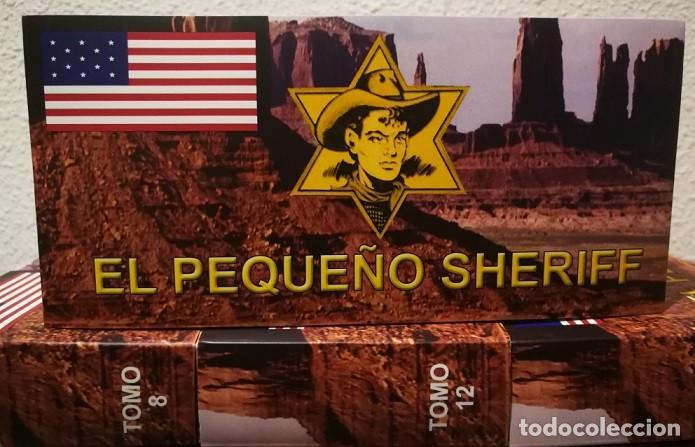 Tebeos: EL PEQUEÑO SHERIFF - COLECCIÓN COMPLETA Y FACSIMILAR (270 Tebeos de 36 pp.en 16 tomos ) - Foto 8 - 194215896