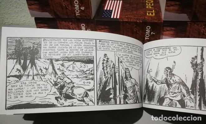 Tebeos: EL PEQUEÑO SHERIFF - COLECCIÓN COMPLETA Y FACSIMILAR (270 Tebeos de 36 pp.en 16 tomos ) - Foto 9 - 194215896