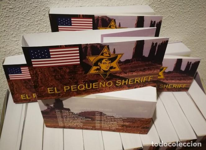 Tebeos: EL PEQUEÑO SHERIFF - COLECCIÓN COMPLETA Y FACSIMILAR (270 Tebeos de 36 pp.en 16 tomos ) - Foto 10 - 194215896